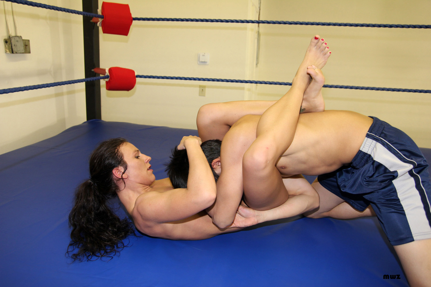 Cute and xhamster mixed wrestling