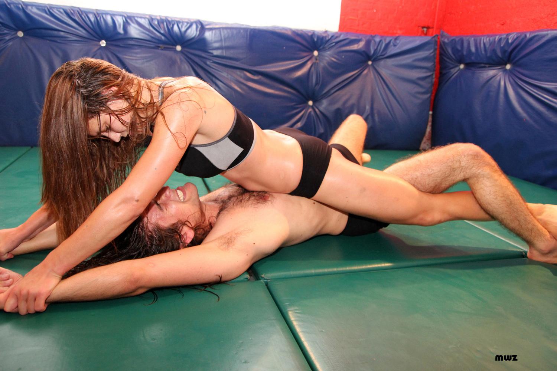 Natalia mixed wrestling