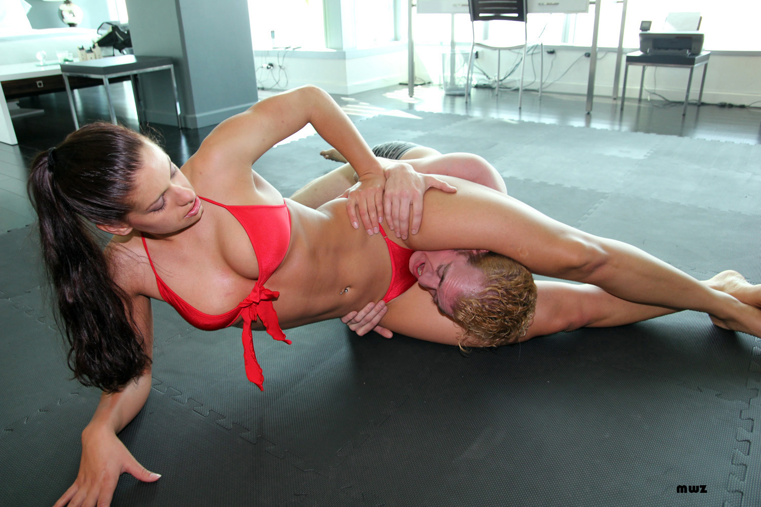 Inquiry skylar rene mixed wrestling are