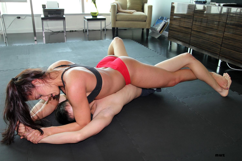 Something skylar rene mixed wrestling